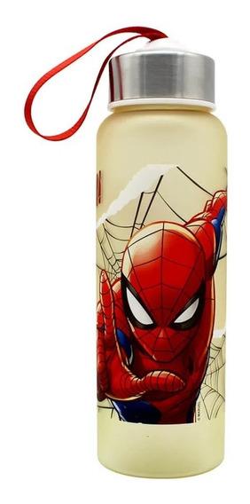 Garrafa C/ Alça 700 Ml Marvel Spider Man Homem Aranha