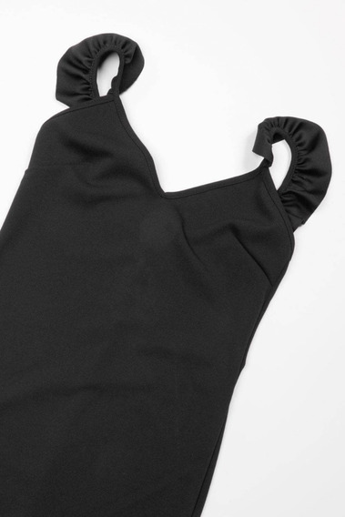 Mini Vestido Negro Para Fiesta