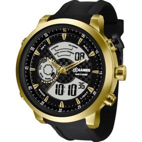 Relógio X-games Masculino Anadigi Xmspa018 P2px + N. Fiscal