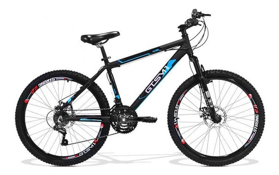 Bicicleta Aro 26 Gts M1 Walk New Freio A Disco 21v