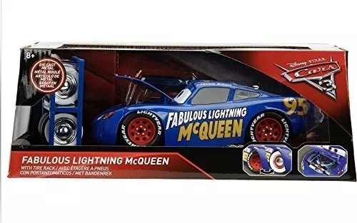 Cars Fabulous Lightning Mcqueen Metalico Jada Disney Cars 3