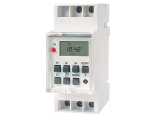 Temporizador Timer Programable Digital Riel Din 2hp