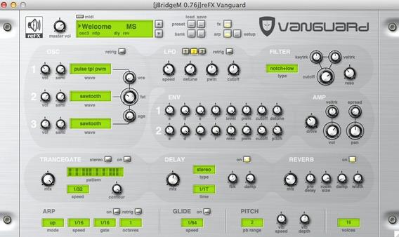 Refx Vanguard Vsti V1.7.2 + All Presets Win/pc