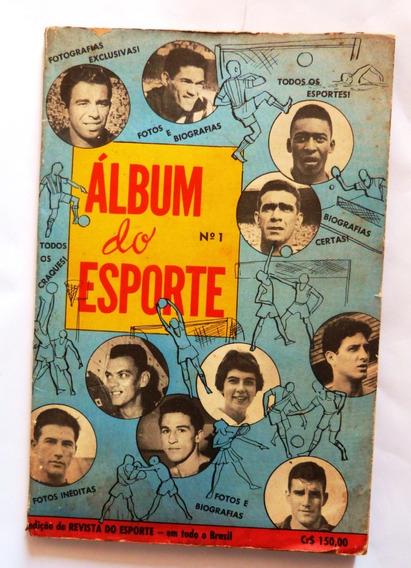 Revista Almanaque Album Do Esporte Nº 1 - Ótimo Estado