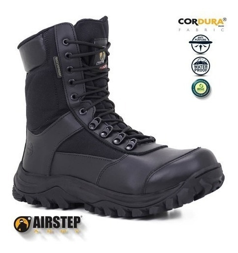 Bota Tática Airstep 8625 Anti-perfuro Water Proof + Brinde !
