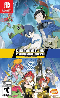 Digimon Story Cyber Sleuth: Complete Edition Español Switch