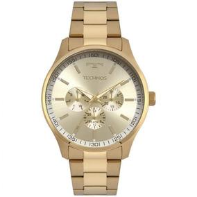 Relógio Technos Masculino Dourado 6p29ajn/4x