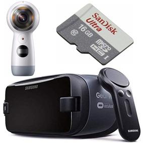 Samsung Gear 360° + Gear Vr325 + Scandisk Ultra 16gb