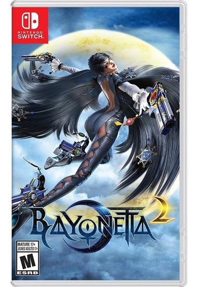 Bayonetta 2 Switch Mídia Física Lacrado