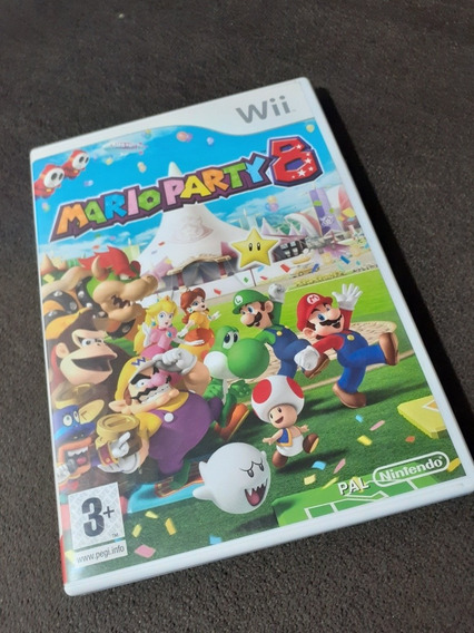 Mario Party 8 Wii Pal Original Europa