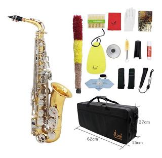 Lade Eb Saxofón Alto De Color De Oro