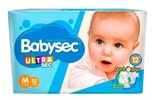 Hiperpacks Pañales Babysec Ultra En Todos Los Talles