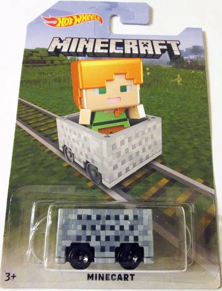 Hot Wheels 2016 Minecraft - Minecart, Escala 1:64.