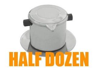Halfdozen 6sets Vietnamita Drip Coffee Maker Filtro De Café