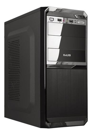 Gabinete Evus G3-11p 3 Baias Micro Atx Com Fonte