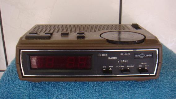 Rádio Relógio Motoradio