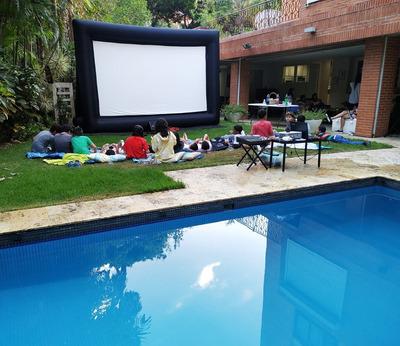 Cine Movil Y Alquiler De Pantalla Gigante Para Eventos