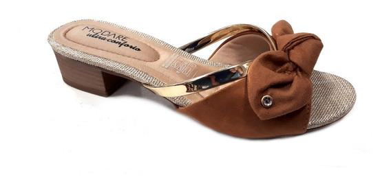 Zapato Mujer Modare Taco 4cm Ultra Conforto Moño