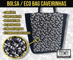 Bolsa / Eco-bag Caveiras Quadrinhos Comics Hq Skull Retrô