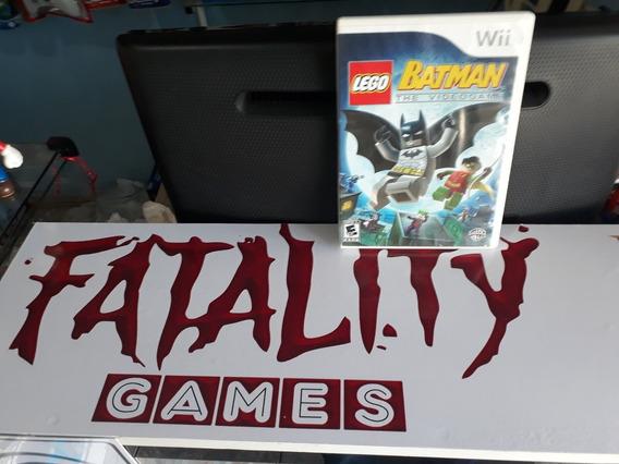 Jogo Lego Batman The Videogame Para Nintendo Wii E Wiiu