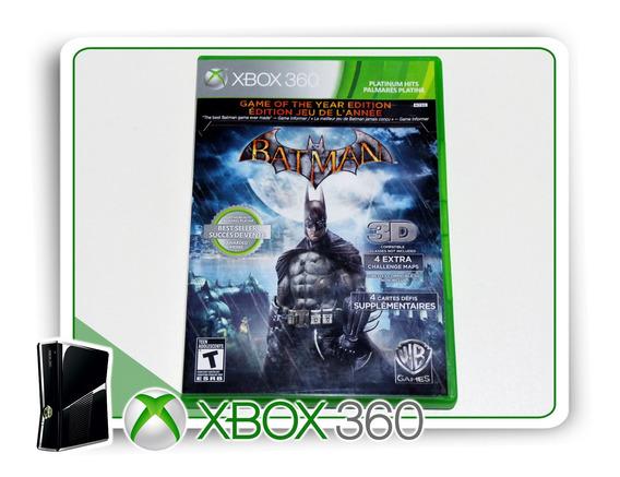 Batman Arkham Asylum Original Xbox 360 - Mídia Física
