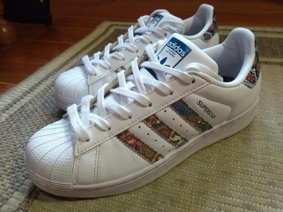 Tênis Feminino Branco adidas Superstar Farm