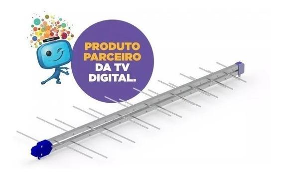 Antena Digital Externa Para Tv Alto Ganho Pq45-1300hdlte