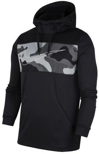 Sudadera Nike Therma Camo Grey 2 Pullover Hoodie (l-grande)