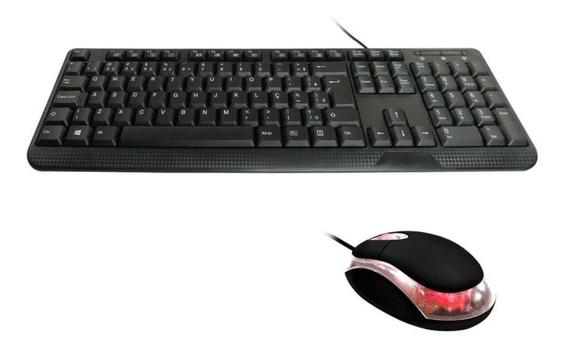 Kit Desktop Ktt102m033 - Teclado E Mouse +nf