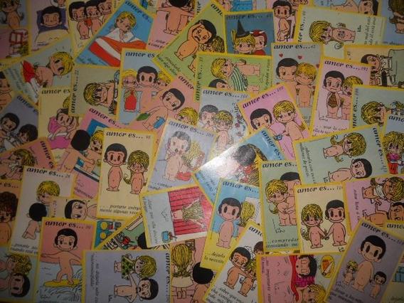 Lote De 50 Estampas Amor Es... ( Album De Los Años 70s )