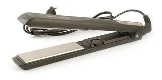 Planchita de pelo Remington Ceramic Straight 230 negra y dorado con placas de cerámica 110V/220V - S1005