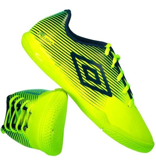 Chuteira Umbro F5 Light Futsal Juvenil Amarela