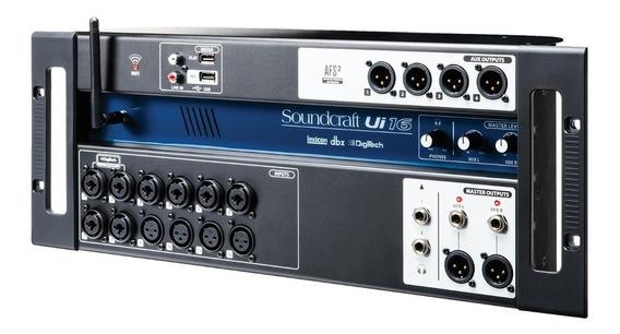 Mesa Digital Soundcraft Ui-16 16 Canais Ui16 Ui 16