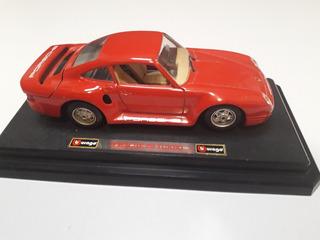 Carro De Coleccion Burago Porsche 959 Turbo