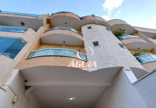 Imagem 1 de 30 de Cobertura Com 3 Dormitórios À Venda, 84 M² + 84 M² Por R$ 522.000 - Vila Pires - Santo André/sp - Co1002
