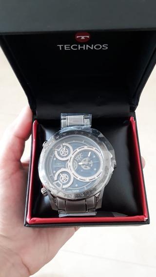 Relógio Masculino Technos Modelo Legacy 2035mlb/4a Em Promoção Por Tempo Limitado, Menor Preço Do Mercado, Aproveitem!