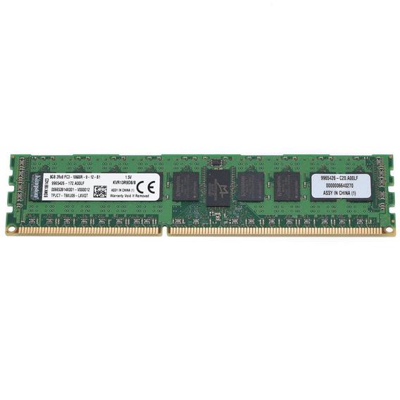 Memoria Servidor Kingston Ecc Rdimm 8gb Ddr3 1333 Mhz Server