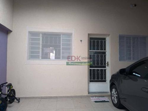 Imagem 1 de 14 de Casa Com 2 Dormitórios À Venda, 94 M² Por R$ 265.000,00 - Loteamento Real Park - Caçapava/sp - Ca4797