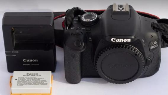 Canon T3i / 600d Corpo + Carregador + Bateria + Alça