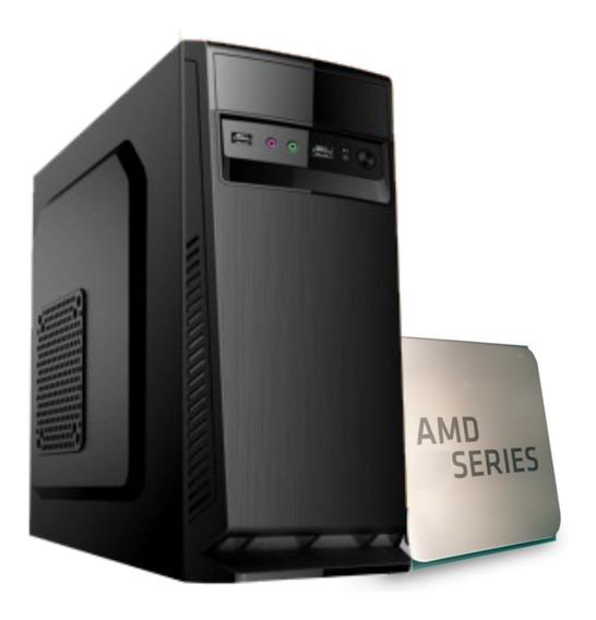 Computador Amd Athlon 3000g Am4 A320m 2x 4gb Ssd 120gb 230w