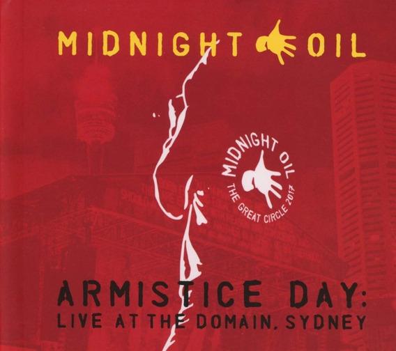 Cd Midnight Oil Armistice Day : Live At The Domain, Sydney