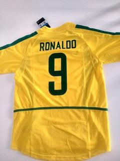 Camisa De Time Nike Seleção Brasileira Ronaldo E Ronaldinho