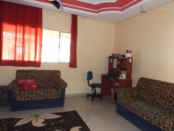 Casa Com 3 Dormitórios À Venda, 192 M² Por R$ 380.000,00 - Jardim Nossa Senhora Auxiliadora - Hortolândia/sp - Ca3820