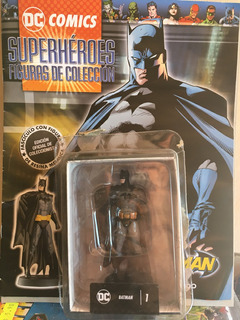 Dc Cómics Batman La Nacion Resina Grijalbo No Plomo