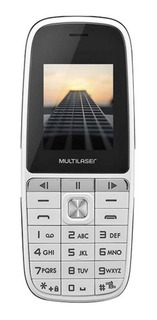 Multilaser Up Play Dual SIM 32 MB Branco 32 MB RAM