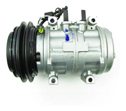 Imagem 1 de 4 de Compressor Ar Cond L200 Gl Gls 2.5 10p15 Original 4 Fixações