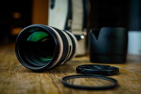 Lente Canon 70-200 Isii F2.8