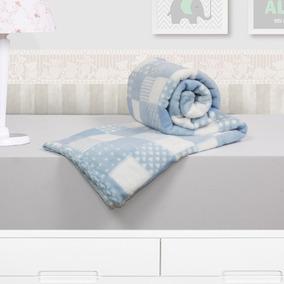 Cobertor Manta Baby Microfibra Camesa Colors 110 X 90 Cm