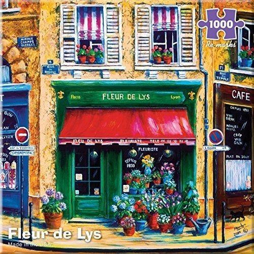 Vuelve A Marcar Fleur De Lys 1000 Piece Puzzle