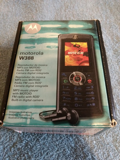 Celular Motorola W388 Em Excelente Estado.